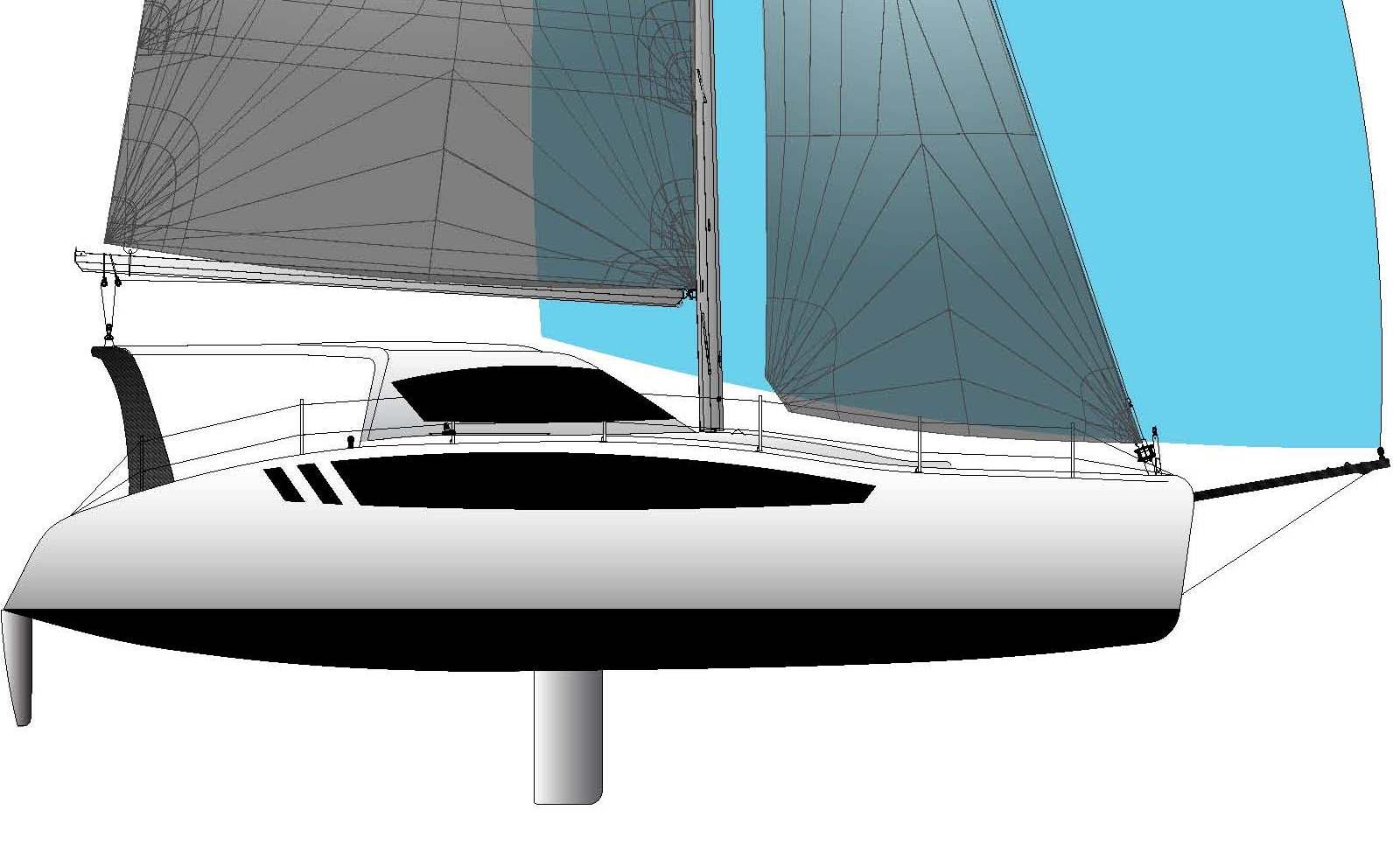 Steckschwert, Steckruder, Gennaker am Bugspriet, die Seawind 1190S verdient die Bezeichnung Performance Cruiser.