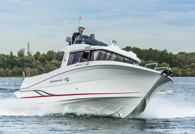 Bénéteau Barracuda 9 Fly: Für Angler und Andere