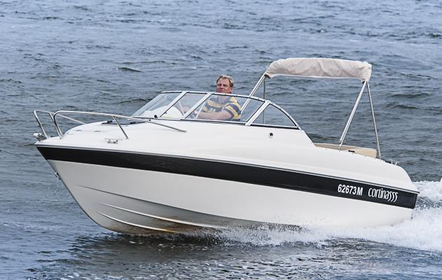 Bast Boat 555 Cabin Sport: Kreuzer für kleine Kasse