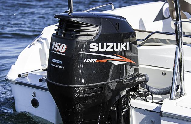 Nur 150: Mehr PS  (bis 200) können, müssen es aber nicht sein. Denn auch mit dieser Motorisierung kommt gut Bewegung ins Schiff. Foto: Dieter Wanke