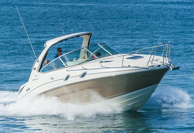 Sea Ray 305 Sundancer: Jetzt mit mehr Diesel-Power