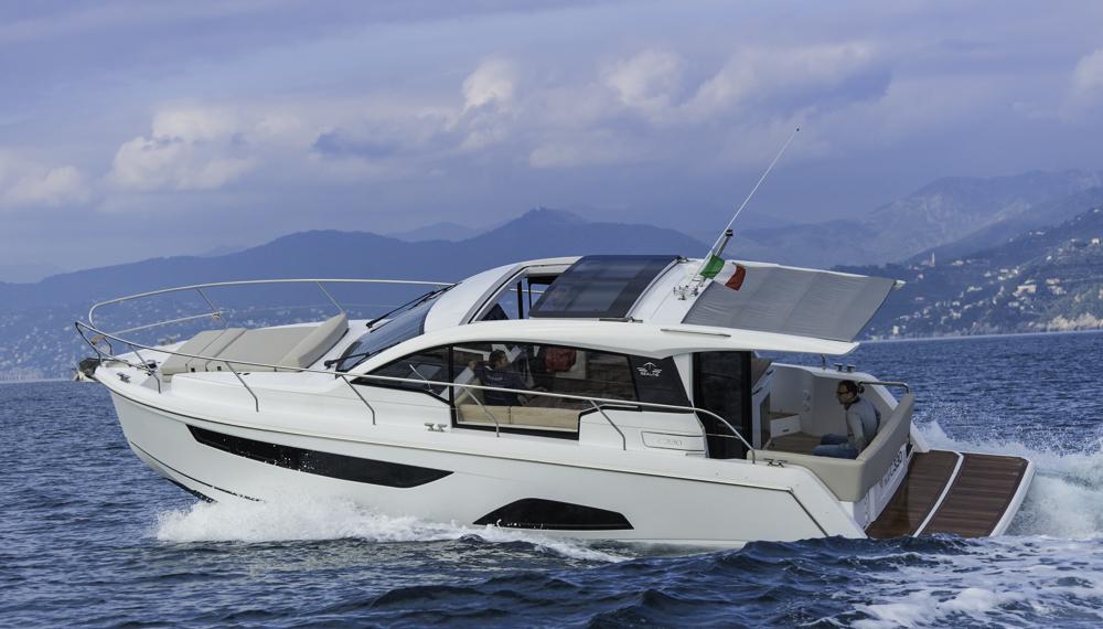 Power im Motorbootmarkt: Wie schon mit Moody hat die hansegroup auch mit Sealine eine englische marke übernommen, die aufgefrischt wurde, um ein wichtiges Segment abzudecken. Foto: Dieter Wanke