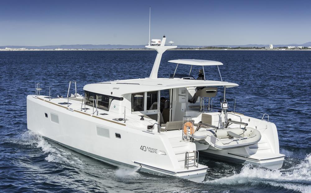 Raumwunder: Von so viel Platz wie auf der Lagoon 40 MY kann man an Bord eines 40-Fuß-Einrumpfers nur träumen. Foto: boats.com/Wanke