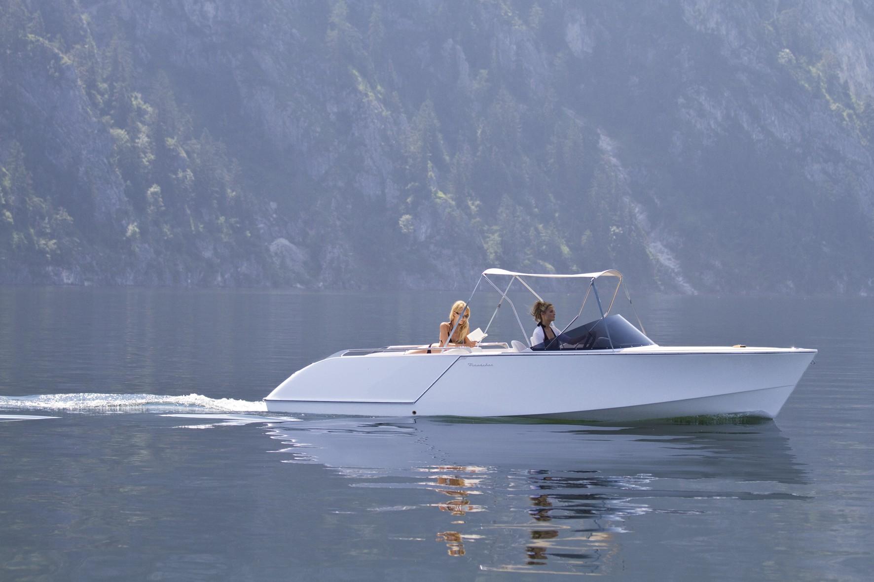 Leises Steckenpferd: Seit den 1950ern baute Frauscher einfache und populäre Elektroboote. Daraus wurden im Lauf der Jahre High-Tech-Boote, die auch international gefragt sind.
