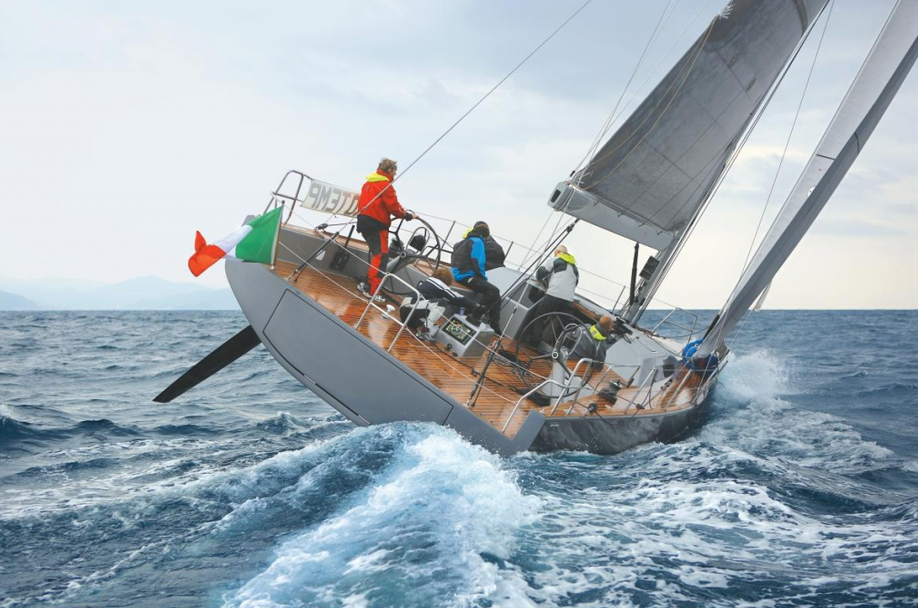 Racer/Cruiser vom Feinsten: Advanced A44 aus Italien. Foto: YACHT/N. Günter