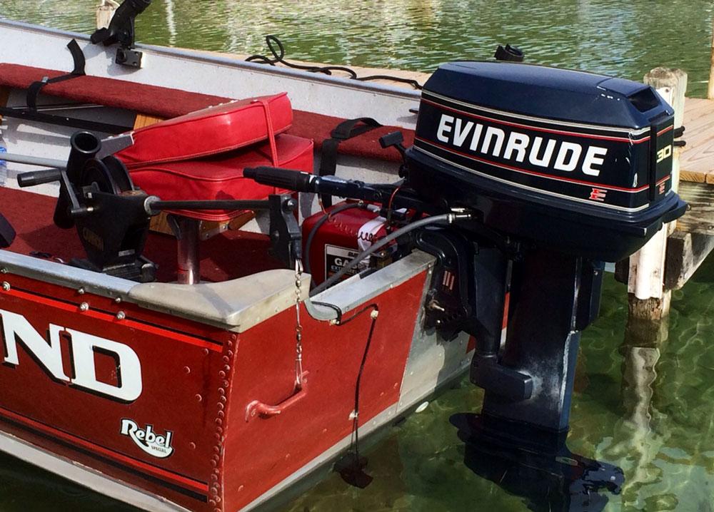 Auch bei kleinen Booten mit Außenborder macht sich eine gründliche Prüfung der Motorisierung bezahlt.