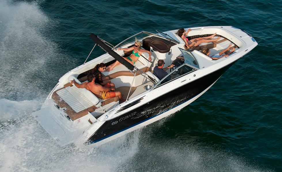 Cobalt 24 SD: Eines der Boote, die mit Forward Drive zu haben sein werden.