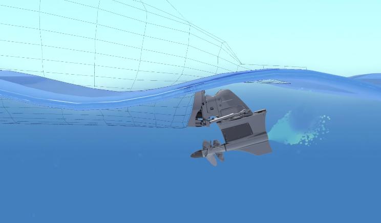 Forward Drive mit Powertrimm: Die richtige Welle für jeden - sagt Volvo Penta.