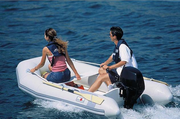 Preisgünstig und gut : PVC-Schlauchboot