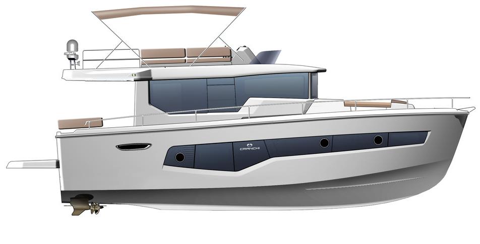 Cranchi Eco Trawler 43 (Italien)