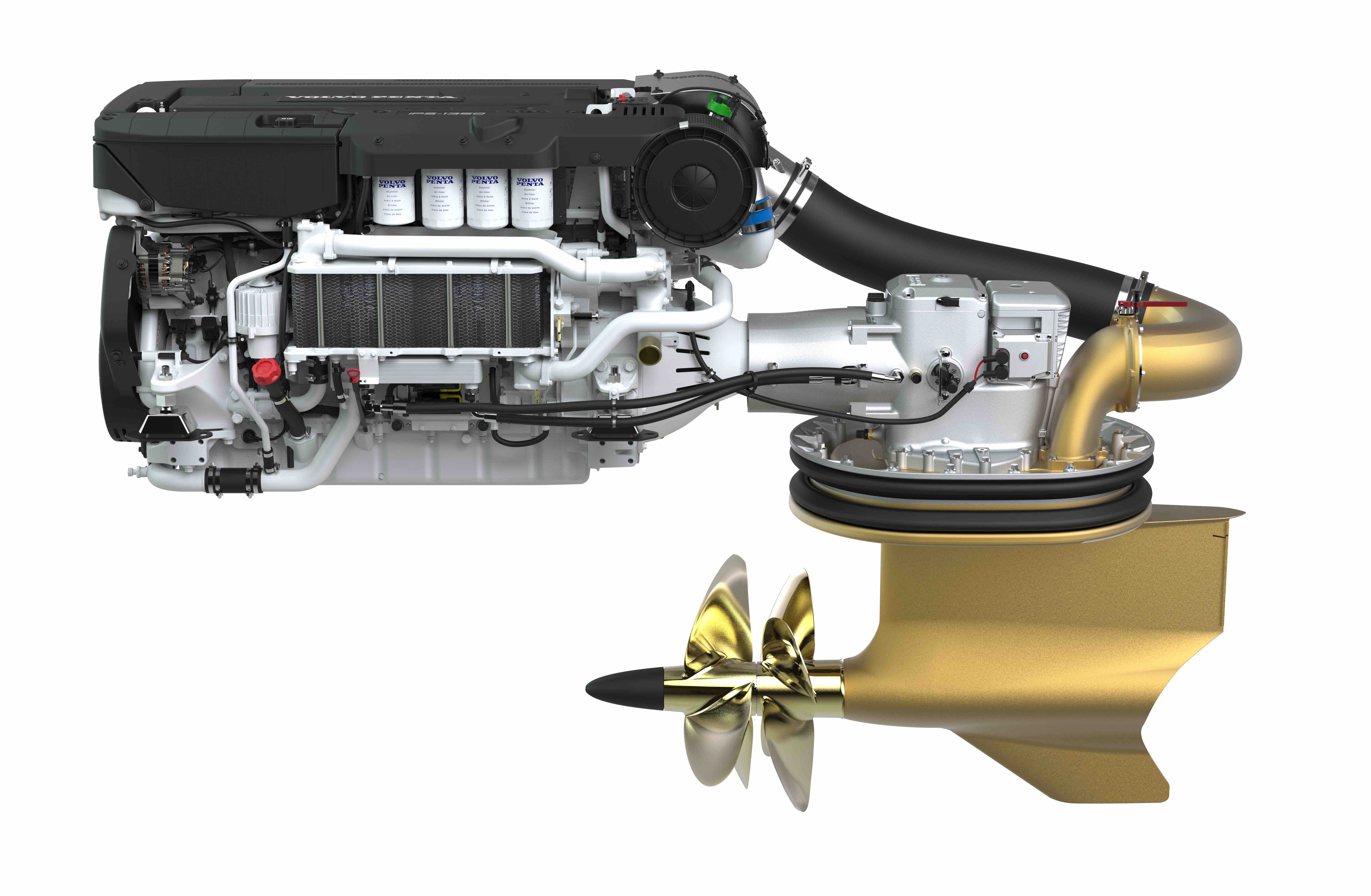 Das neue Antriebspaket Volvo Penta D13-IPS1350
