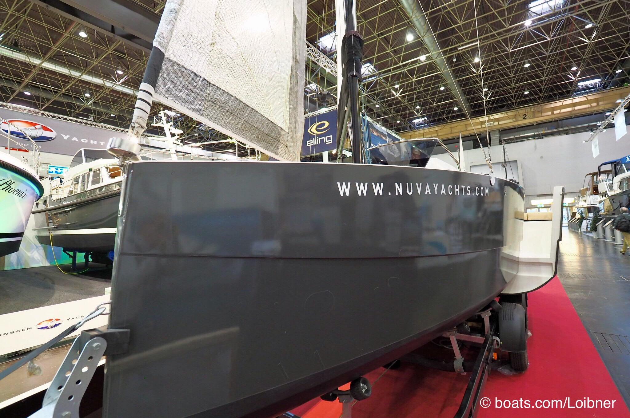 Nuva MS 6 mit ausgefahrenem Achtercockpit Foto: boats.com/Loibner
