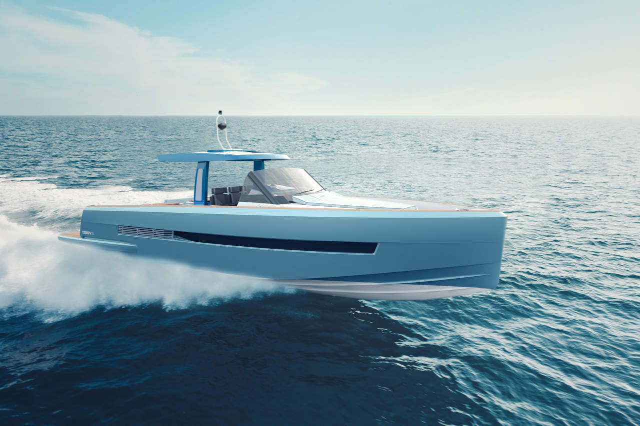 T-Top nach Fjords Zuschnitt: ein Boot für den Spaß an der Sonne