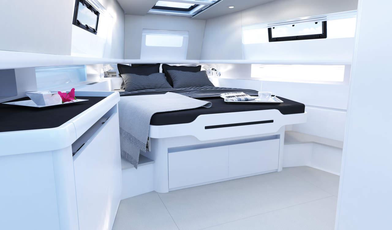 Modern bis heimelig: Eigner haben große Wahl bei der Gestaltung der Räumlichkeiten unter Deck.
