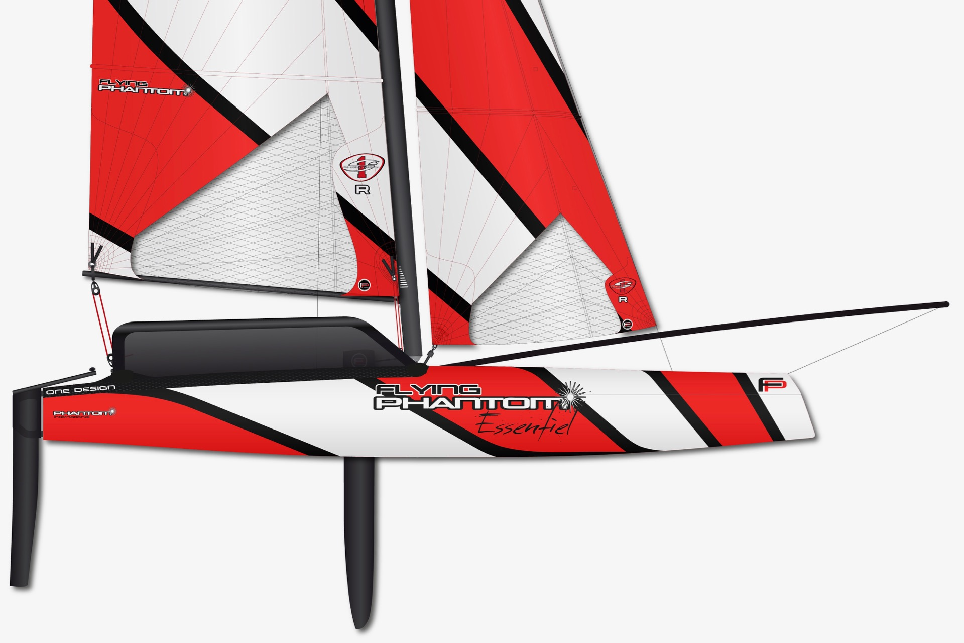 Flying Phantom Essentiel: Foiling für Anfänger