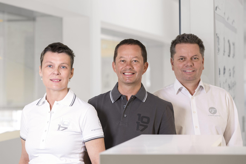 Chefsache: Andrea Frauscher-Oberfrank, Stefan und Michael Frauscher