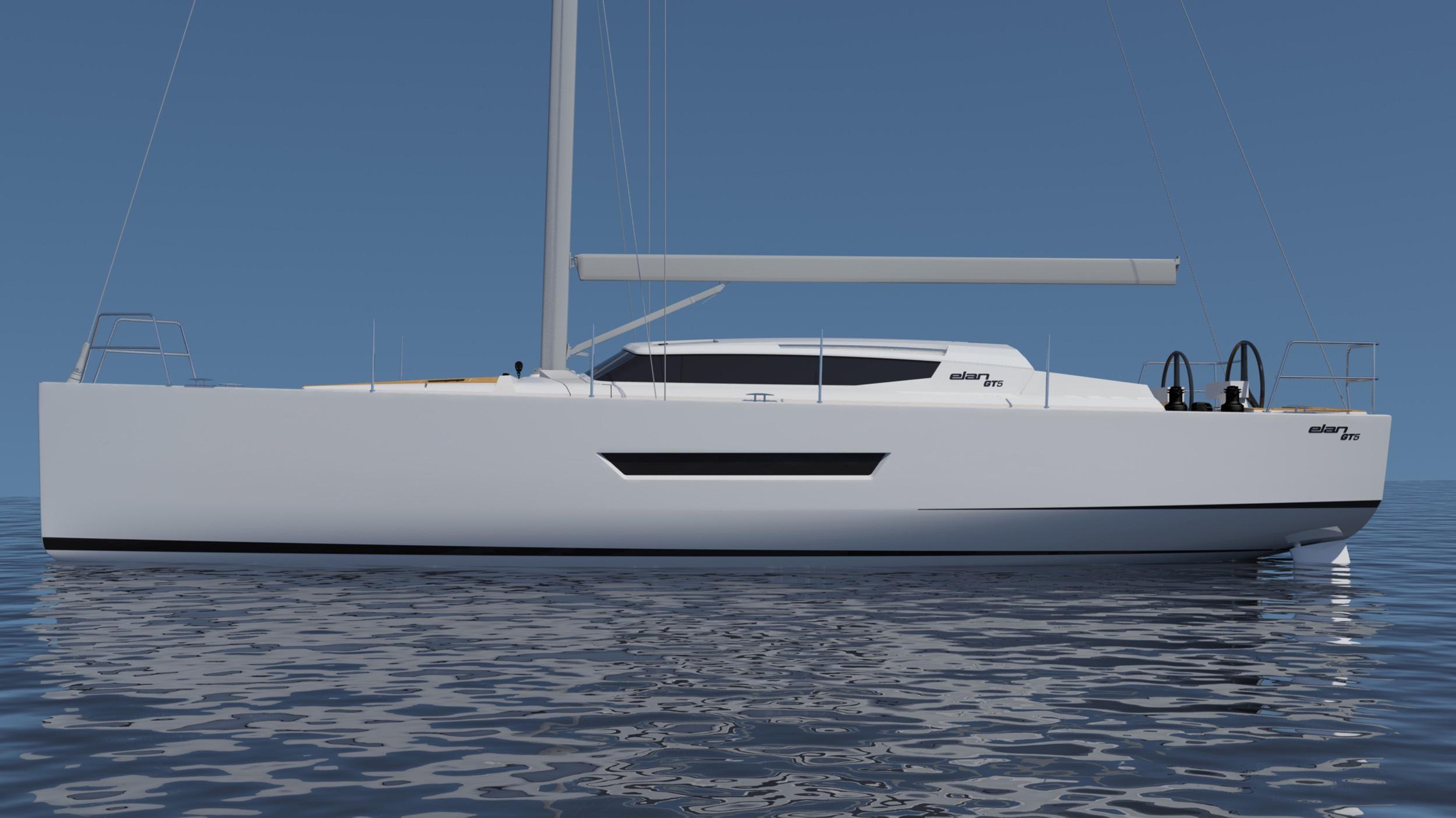 Profiliert: Elegant und schneidig, so zeigt sich die neue GT 5 von Elan.
