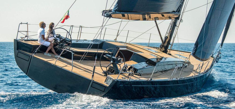 Neues, flottes Flaggschiff aus Italien. Grand Soleil 58