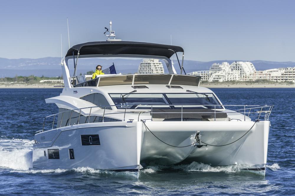 Stimmiges Äußeres, imposante Fahrleistung, und gute Verarbeitung stellen dem JC 48 ein gutes Zeugnis aus. Foto: boats.com/Dieter Wanke