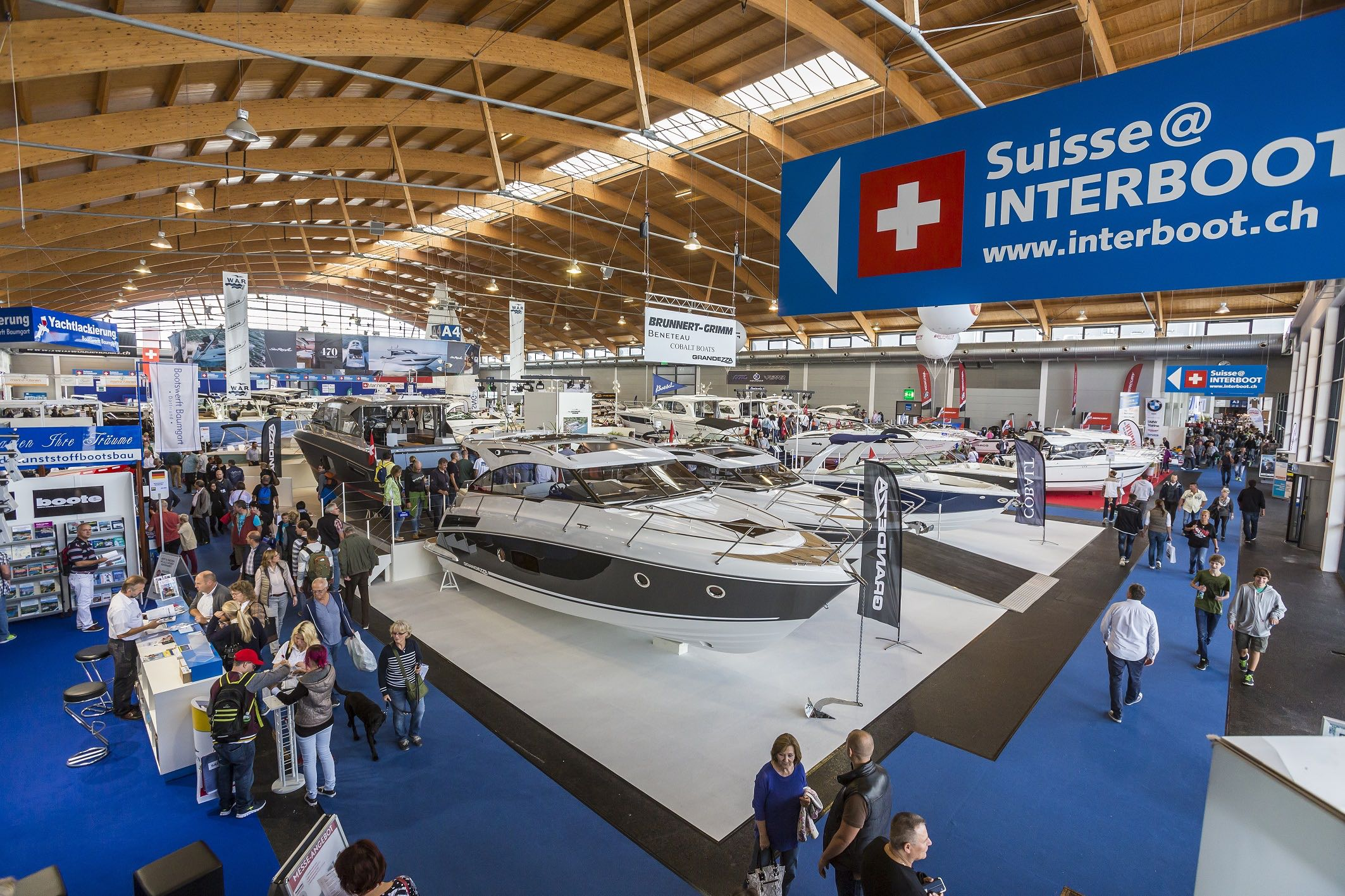 Stark präsent: Die Schweizer Bootsbranche wird in Friedrichshafen wieder Flagge zeigen.
