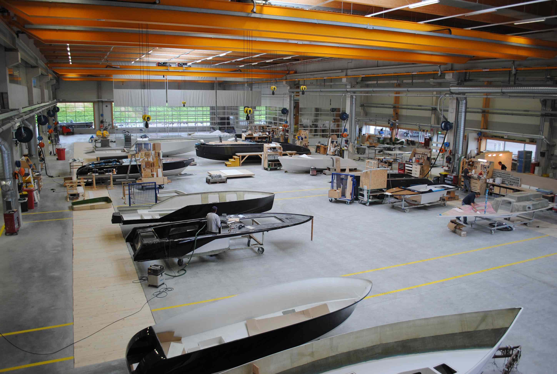 Passendes Umfeld: Produktion und Endmontage im neuen Werk in Ohlsdorf bei Gmunden