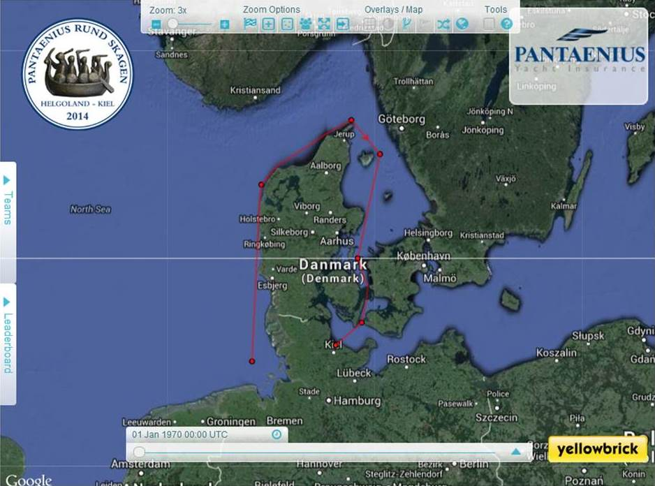 Der 500-Meilen-Kurs von Pantaenius Rund Skagen