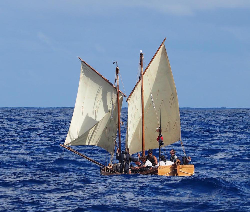 Captain Willaim bligh und seine 18 Fluchtgefährten segelten 4000 Meilen in einer Nußschale. Foto: Channel 4