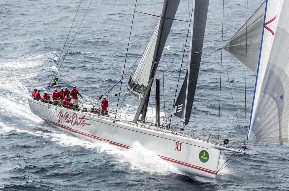 Rolex Sydney-Hobart: Kein Rekord, aber wieder Line Honors für Wild Oats IX