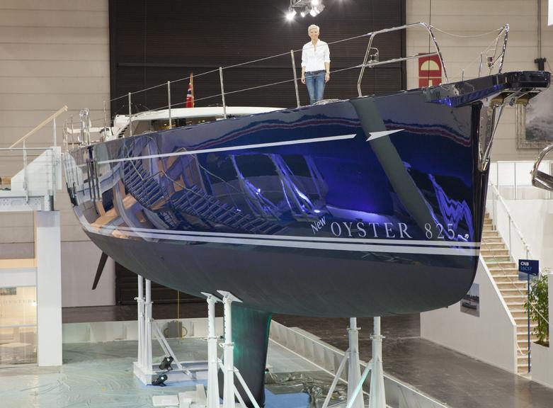Königin von Düsseldorf: Oyster 825 DS. Foto: Yacht/ S. Reineke