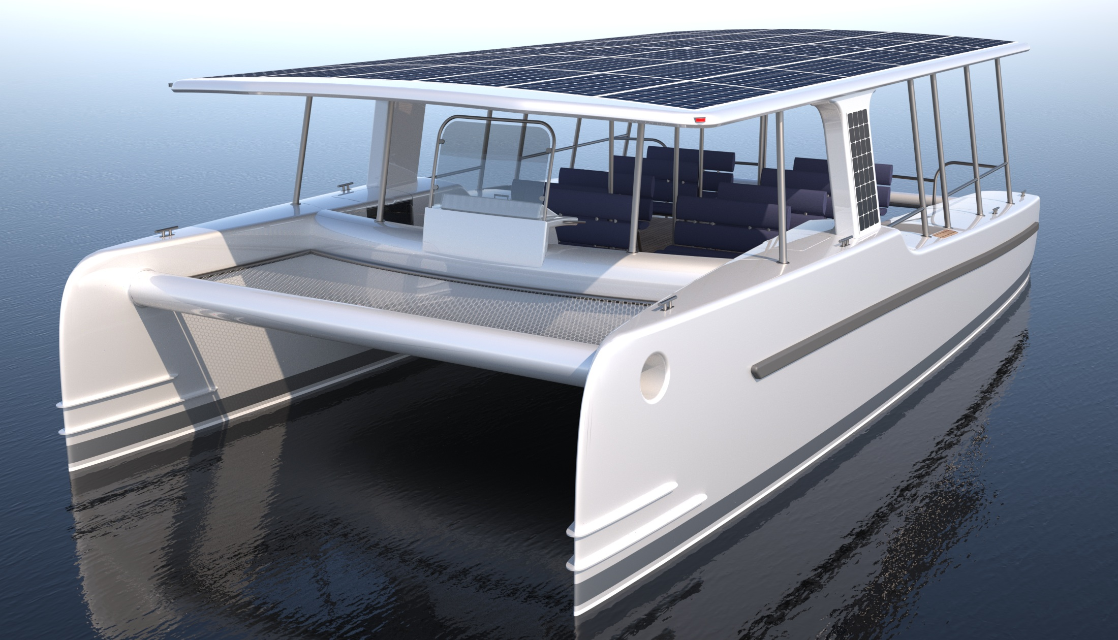 Schmale Rümpfe und Leichtbauweise, sollen dem Boot gute Fahrleistungen verleihen