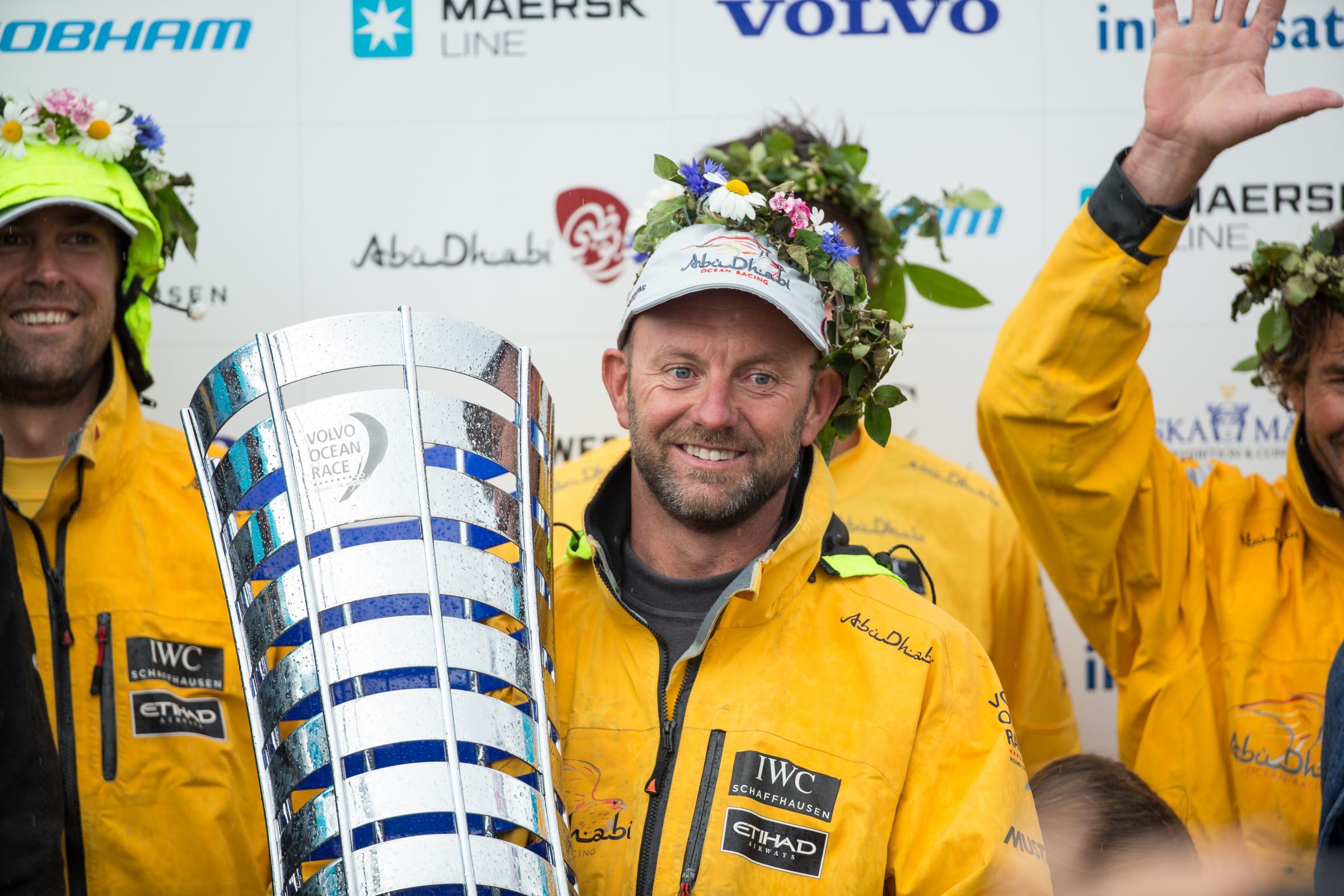 Ian Walker ist Englands Yachtsman of the Year. Foto: Volvo Ocean Race