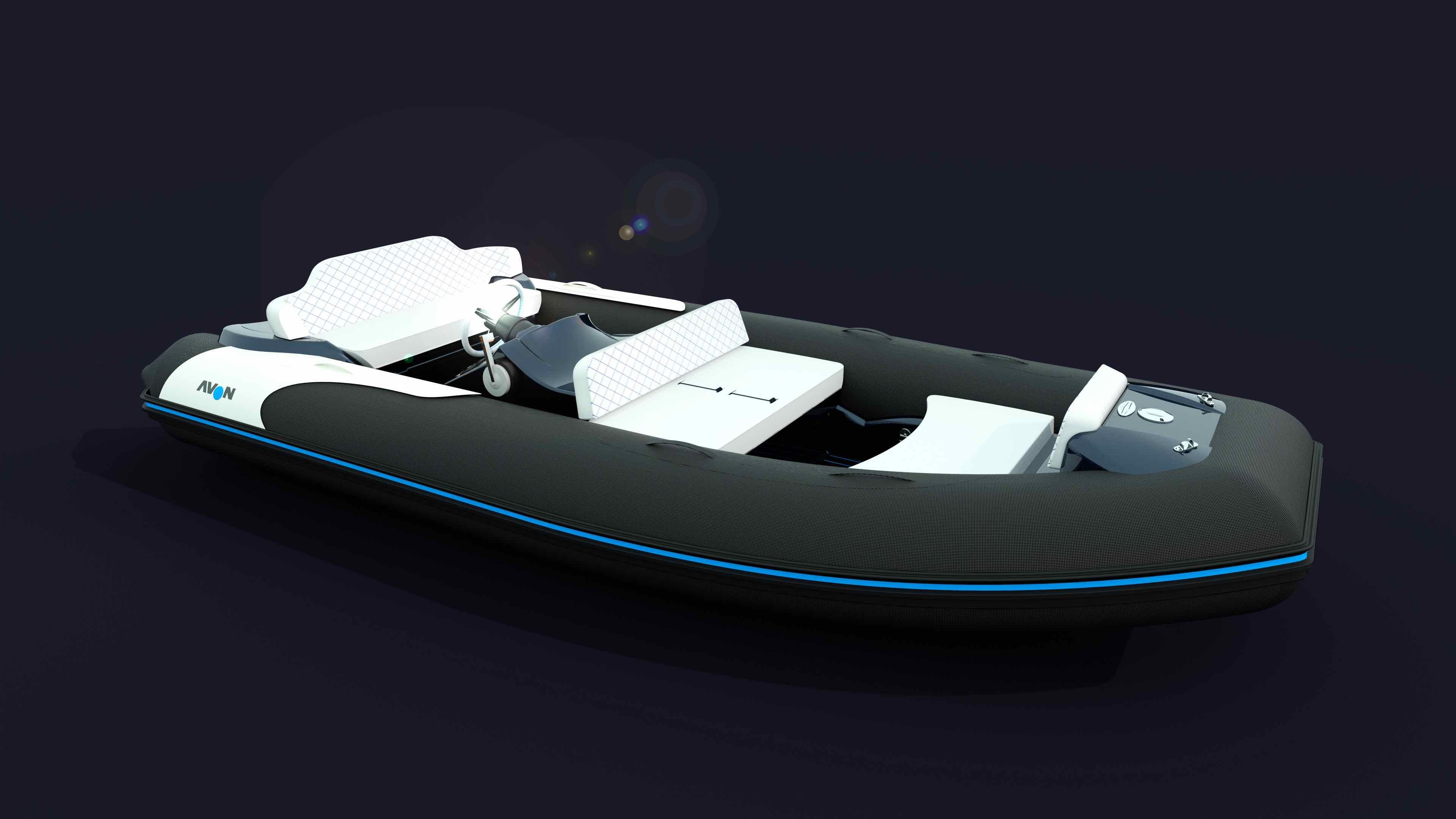 Zodiac-Avon eJet: Luxustender mit E-Antrieb
