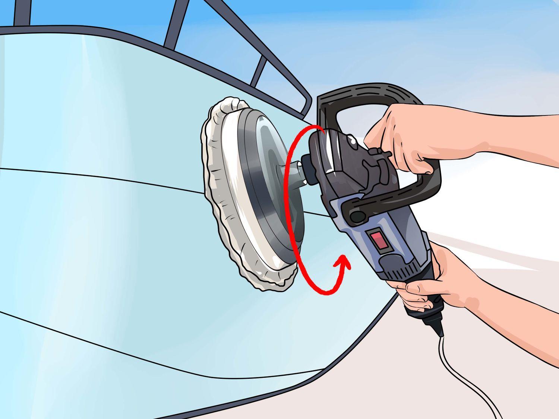 Kreisförmige Bewegungen während des Poliervorgangs. Bild: Vripmaster