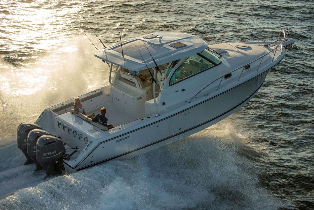 Gib Gas, ich will Spaß. Schnelle Boote sind fast ausschließlich Gleiter.