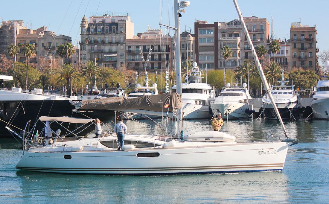 Markenbewusstsein: Wer auf hohen Wiederverkaufswert bedacht ist, tut gut daran, sich für eine Yacht einer bekannten Qualitätswerft zu entscheiden.