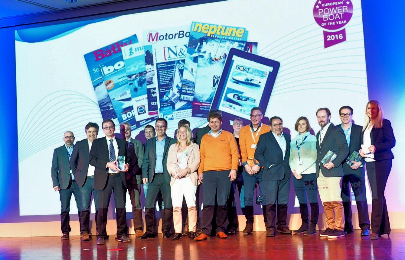Die Sieger des European Powerboat of the Year Awards 2016