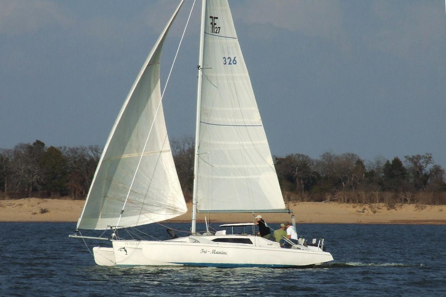 Einer der frühen F27 mit Screecher. Foto: www.cruisersforum.com