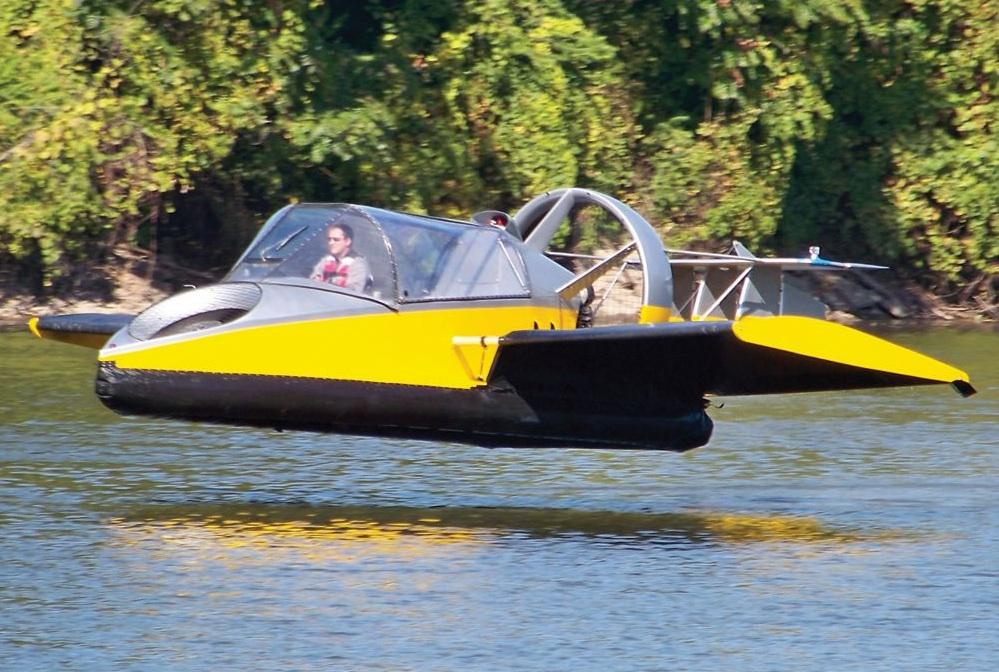 Flying Hovercraft.