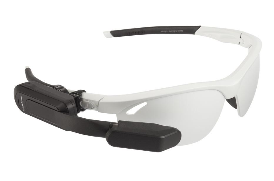 Brille mit Display: Das Garmin Nautix ist leicht, schlank und passt auf fast jeden Sehbehelf