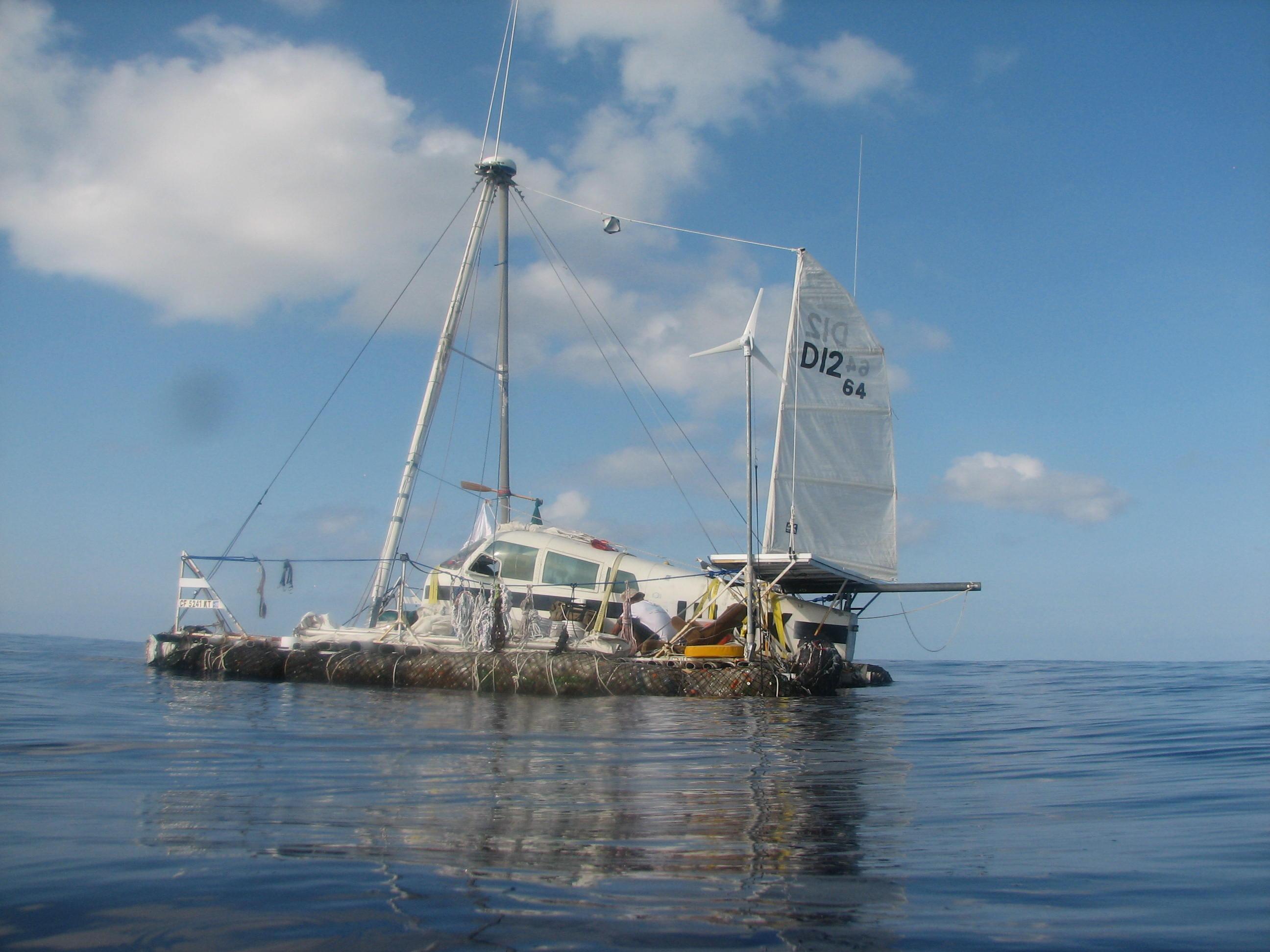 So ging's von Kalifornien nach Hawaii: Junkraft überlebte den Pazifik