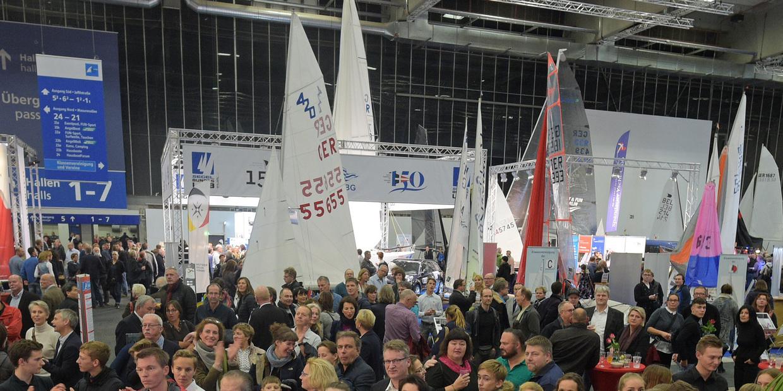 Reges Treiben herrschte auf der Boot & Fun in Berlin. Foto: Messe Berlin
