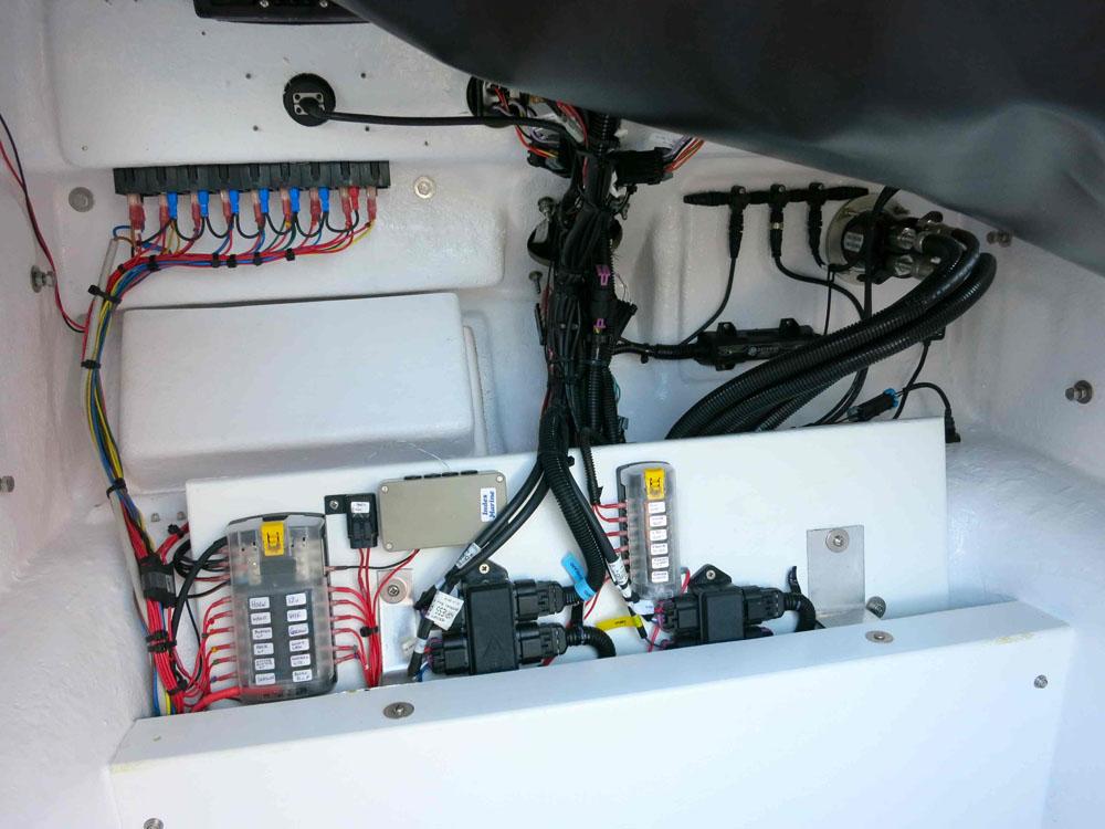 Saubere Verkabelung und Elektroinstallationen sind gute Zeichen für die Qualität und den Wartungszustand. Sehen Sie deshalb auch in weniger gut zugänglichen Stellen nach.