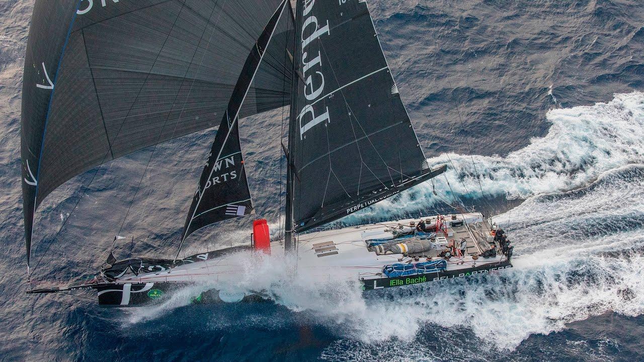 Endlich am Ziel: Sieg beim Sydney-Hobart-Race für Perpetual Loyal, und das mit fantastischem Rekord. Foto: Rolex/Daniel Forster