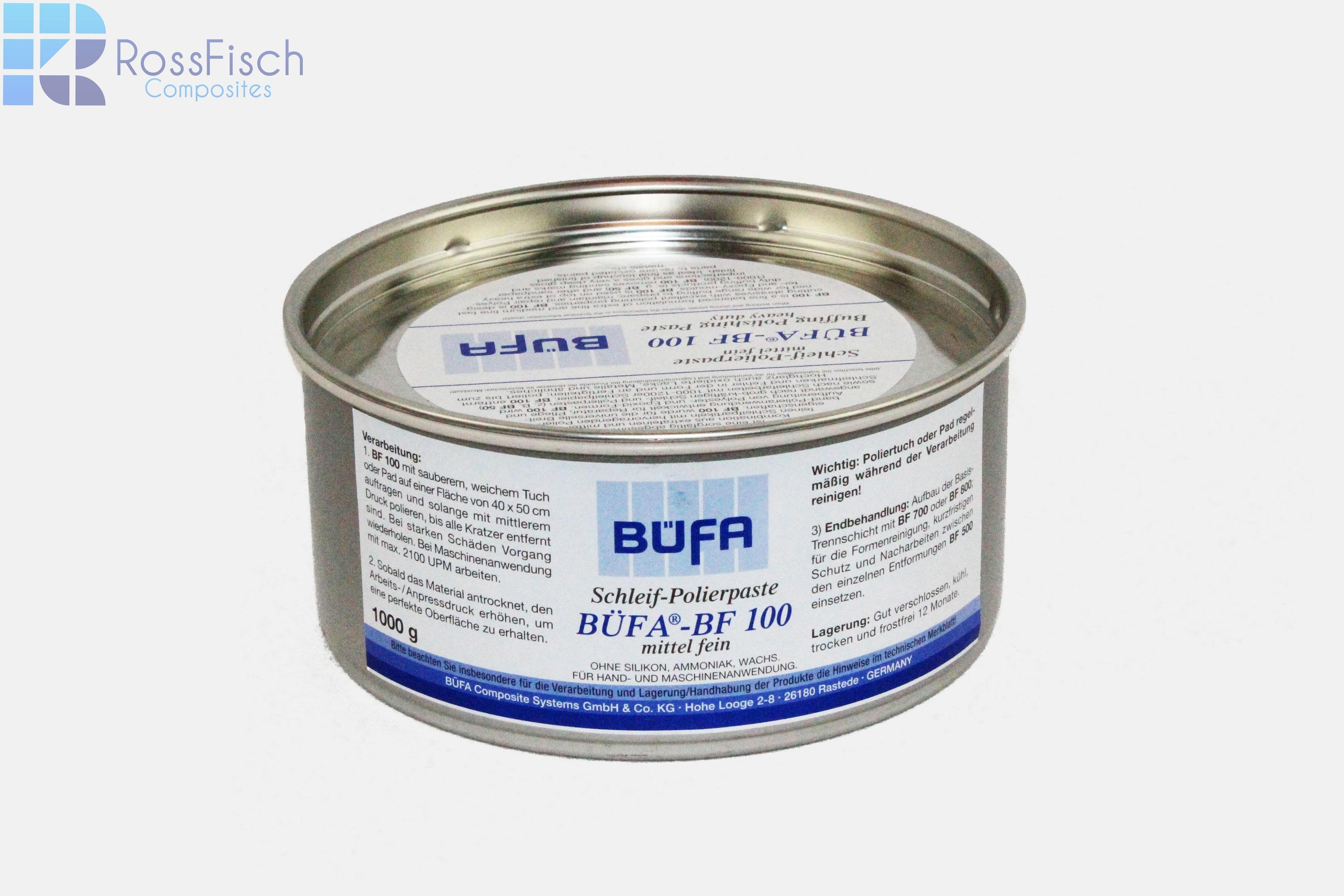Ein handelsübliches Produkt für das  Kombinieren von Abtrag und Politur beim Oberflächenfinish