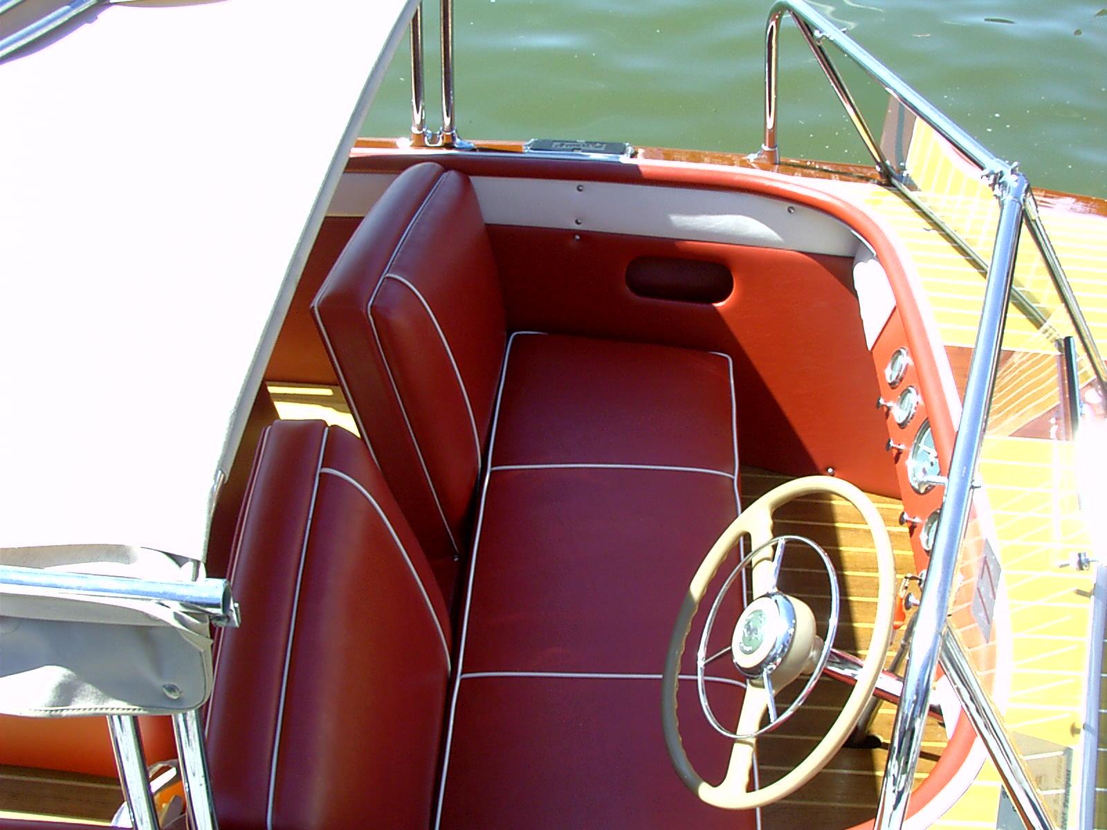 Darauf sitzt man gerne: Überholte Polsterung auf einem Klassiker. Foto: www.jacksupholstry.com