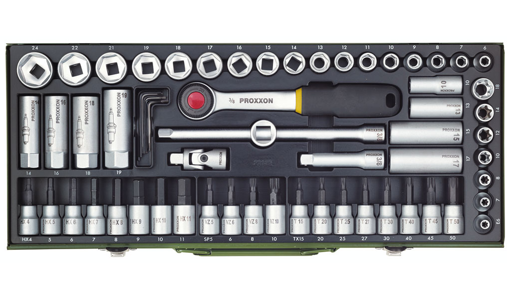 Proxxon Steckschlüsselsatz 65-teilig
