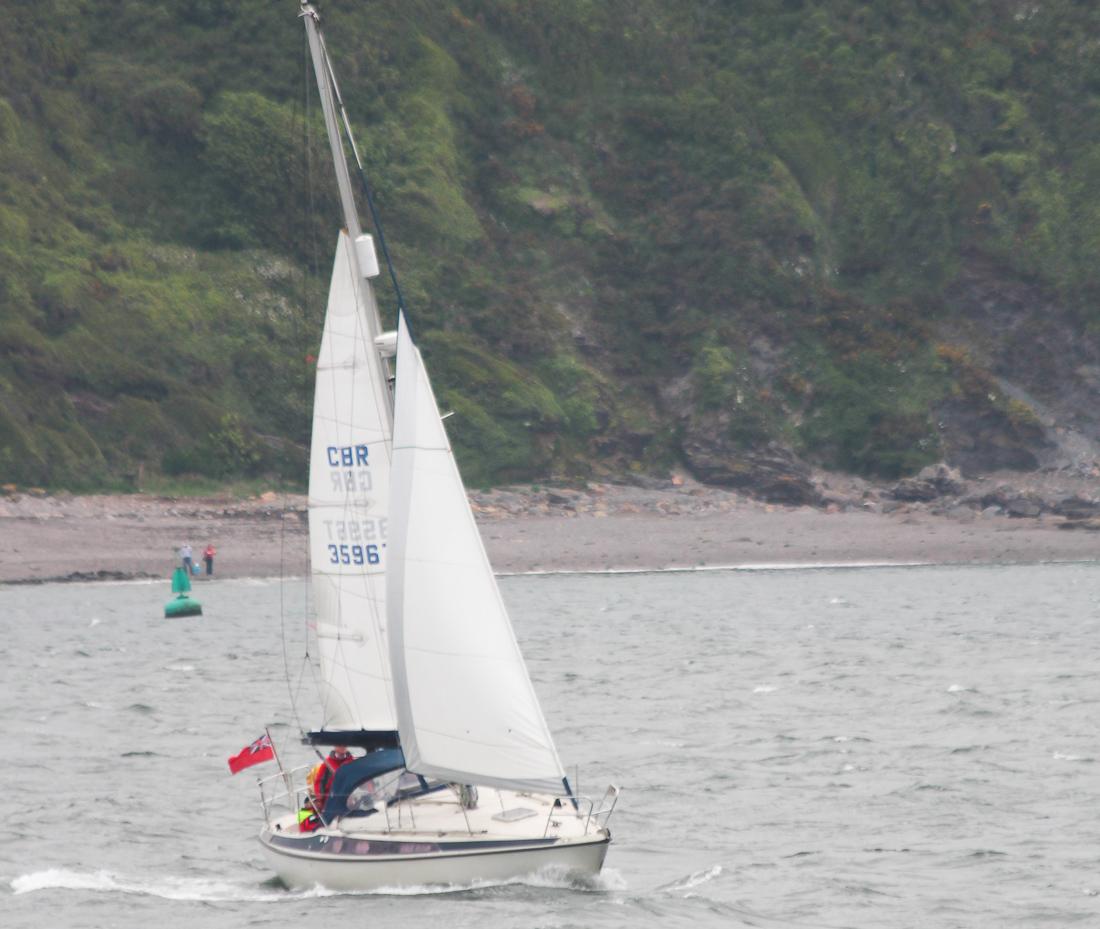 Stark gereffte Rollgenua, produzieren mehr Abdrift, stärkere Krängung und mehr Luvgierigkeit. Fazit: das Boot ist schwieriger zu steuern, segelt weniger hoch am Wind und ist in Summe auch langsamer.