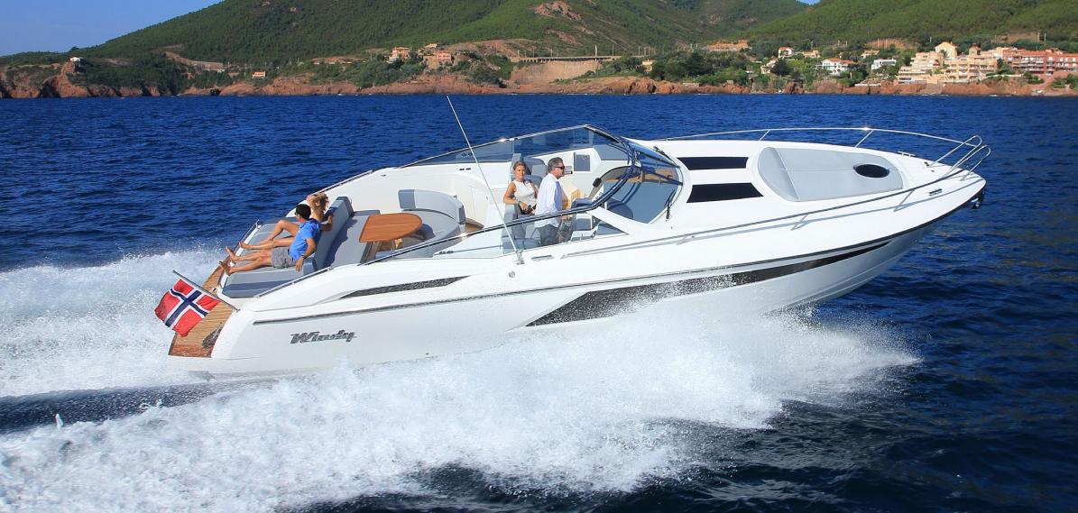 Speed und Spaß auf der neuen Windy 39 Camira