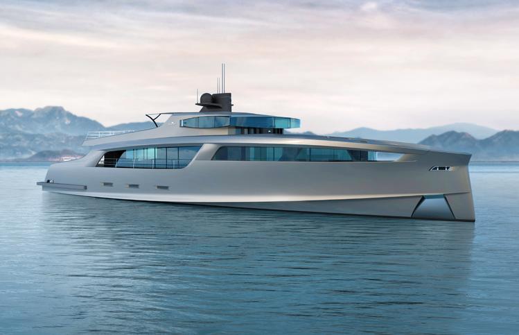 Moderne segelyachten  Megayacht Taurus: Großes im Namen des Stiers - boats.com