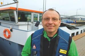 Schleusenwärter: Im Brennpunkt der Binnenschiffer